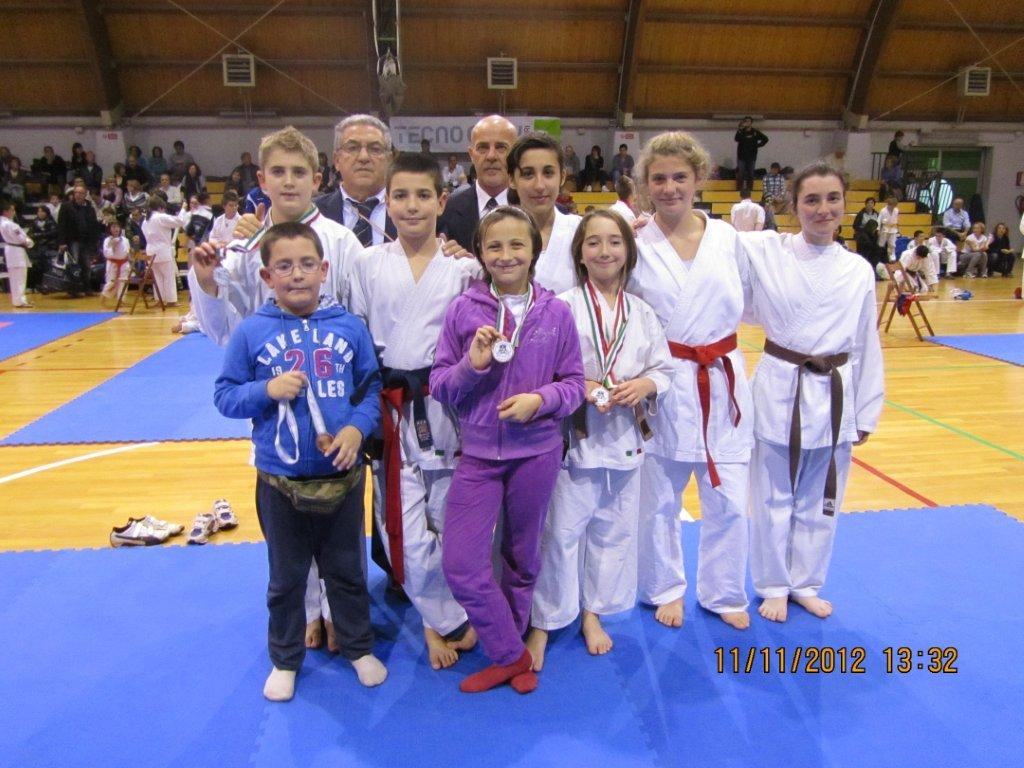 Gran premio giovanissimi karate