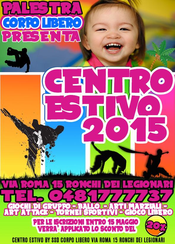 CENTRO ESTIVO 2015